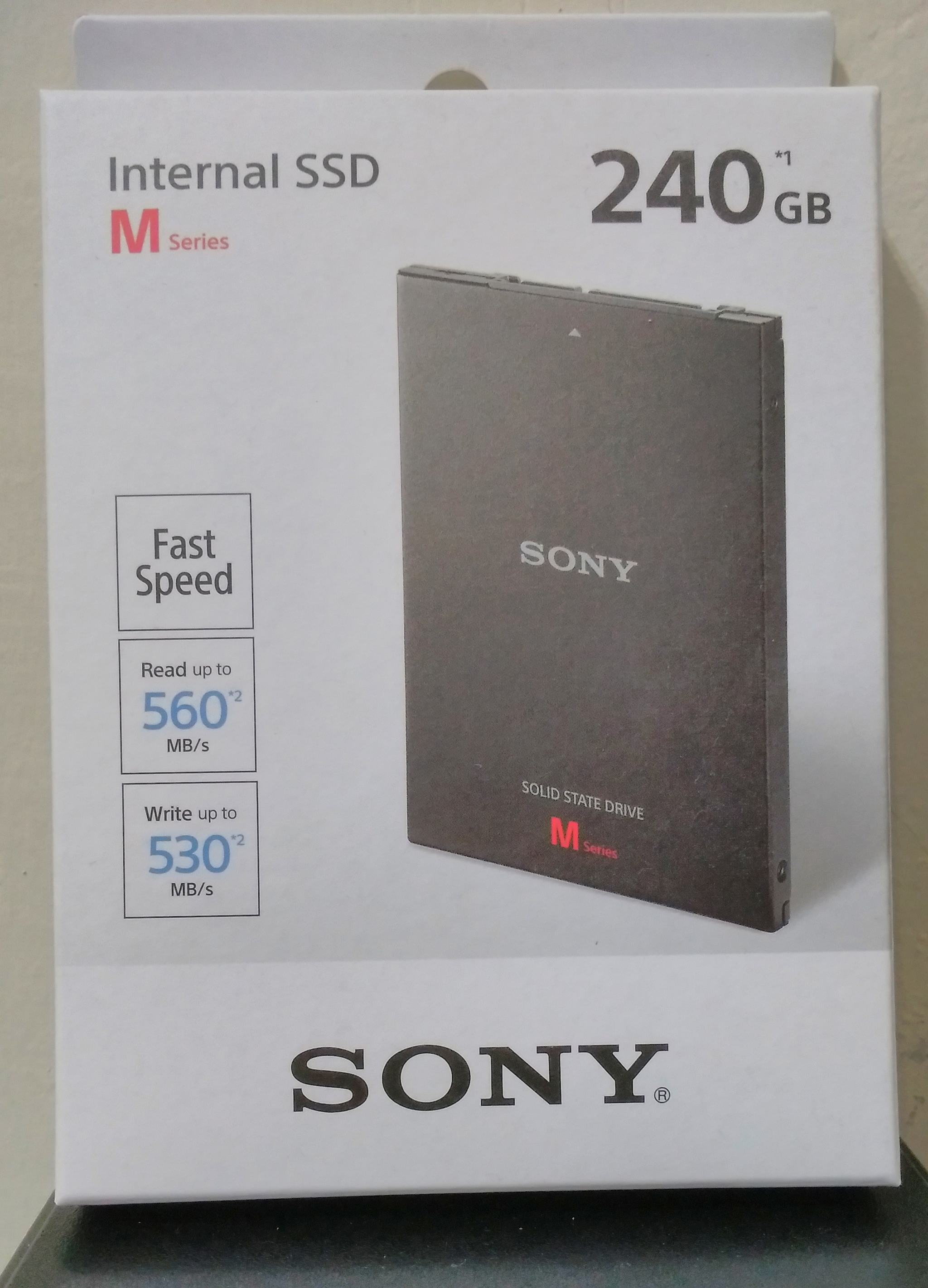 Sony SLW-MG2 240GB (R:560MB / S W:530 MB / S)
