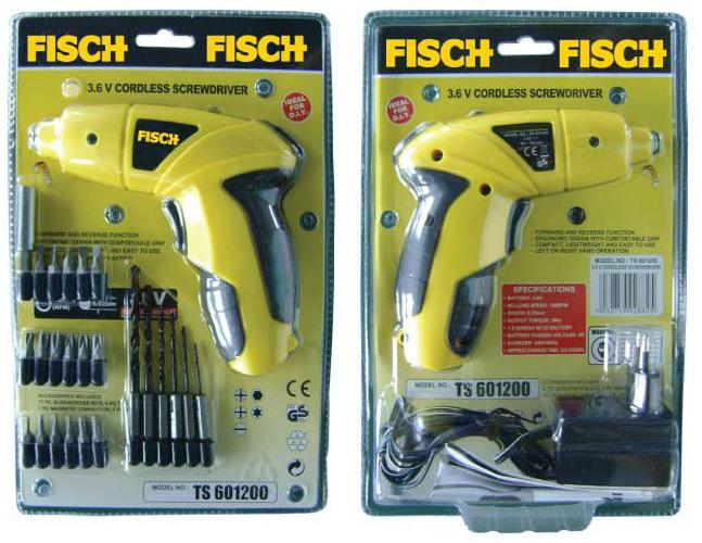 Mesin Obeng / Mesin Bor Portable FISCH TS601200