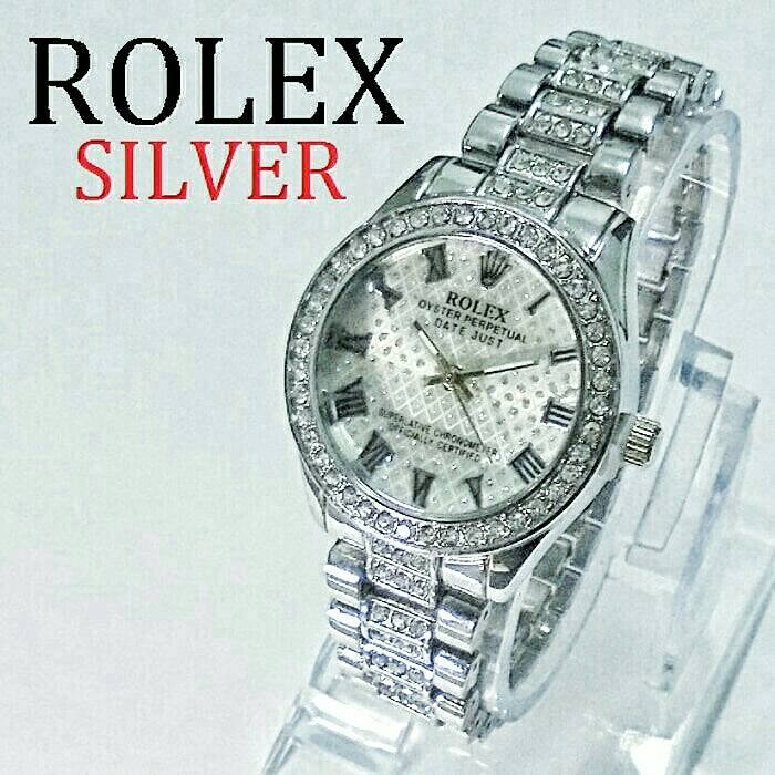 Cuci Gudang Jam Tangan Wanita Rolex Oyster (Guess MK LV Gucci Dior)
