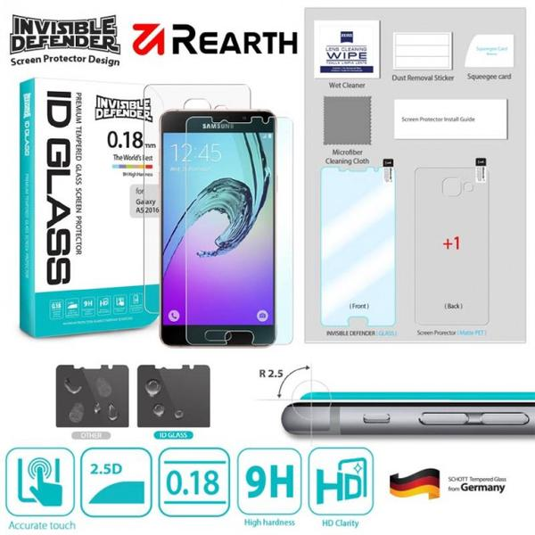 Rearth Ringke 0.18 Mm Invisible Tempered Glass Samsung Galaxy A7 2016