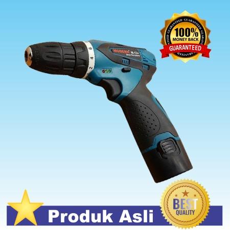 Mesin Bor Baterai / Cordless M-12v (Top Quality) Bor Kayu / Bor Besi