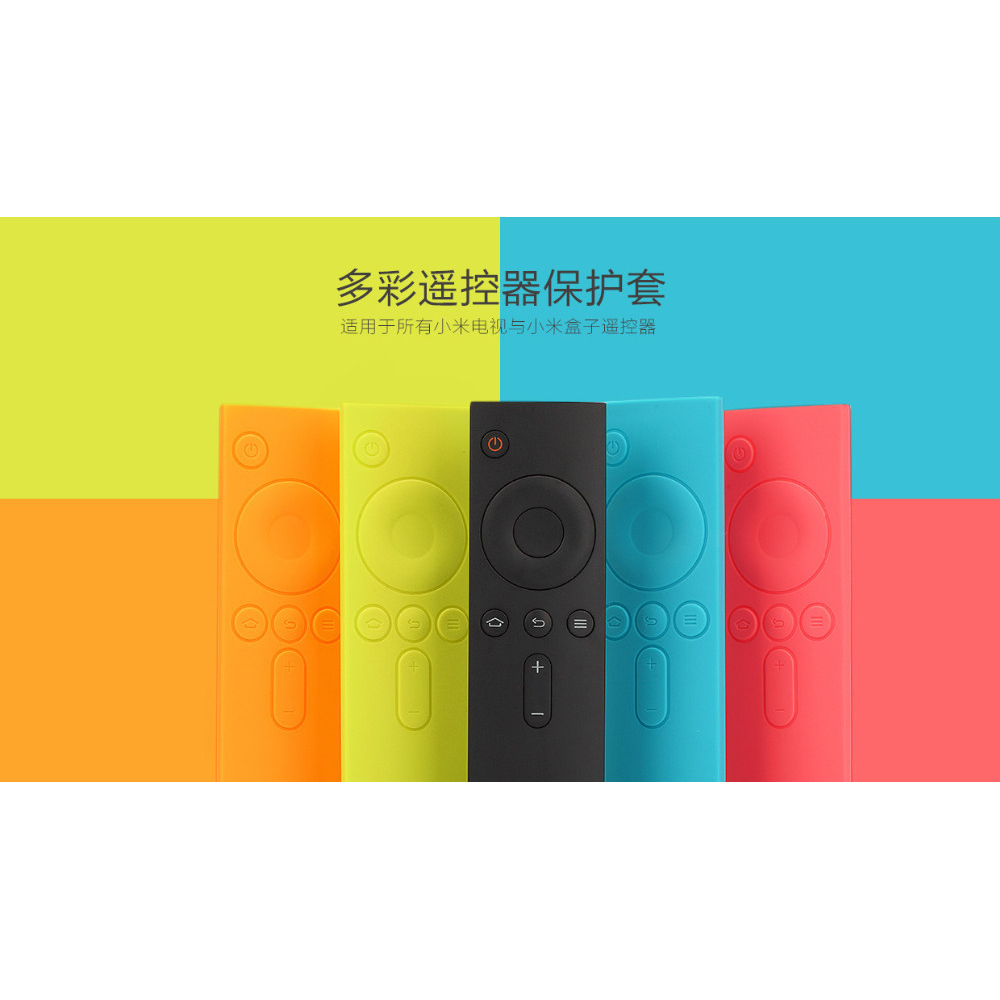 Xiaomi TV Remote Protector Case Skin Cover (OEM) - Blac