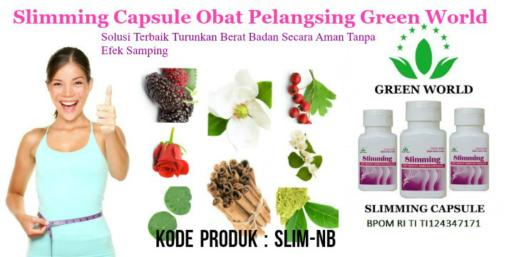 Jual Green World Slimming Capsule Octa Shop Online