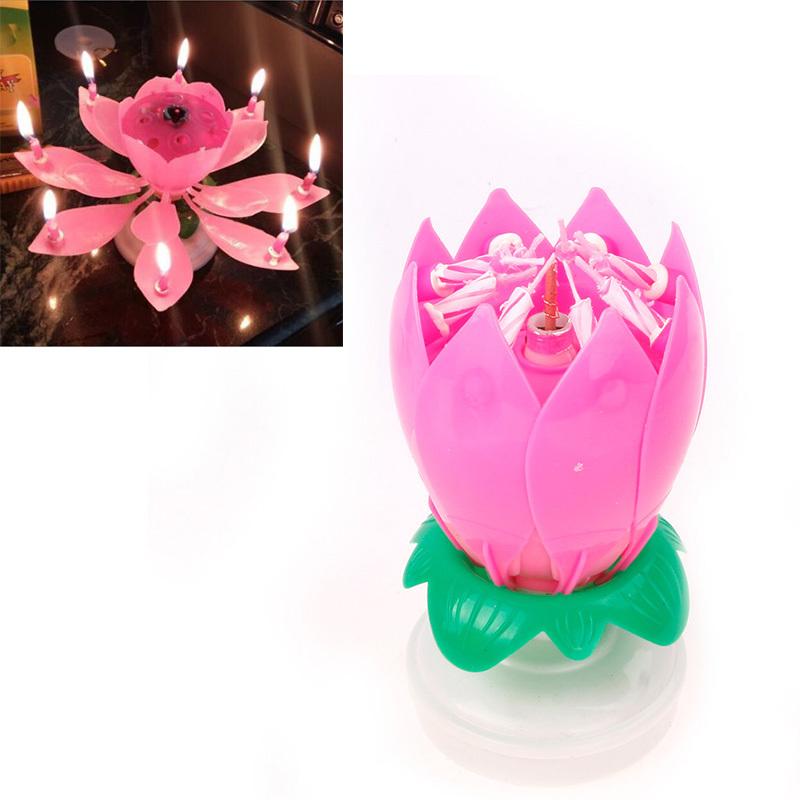 Jual Lilin Ulang Tahun - Lotus 1 Layer super premium - Toko Bintang Terang | Tokopedia