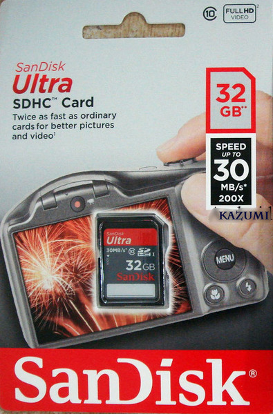 SanDisk SD Ultra 32 GB Speed 40 MBps