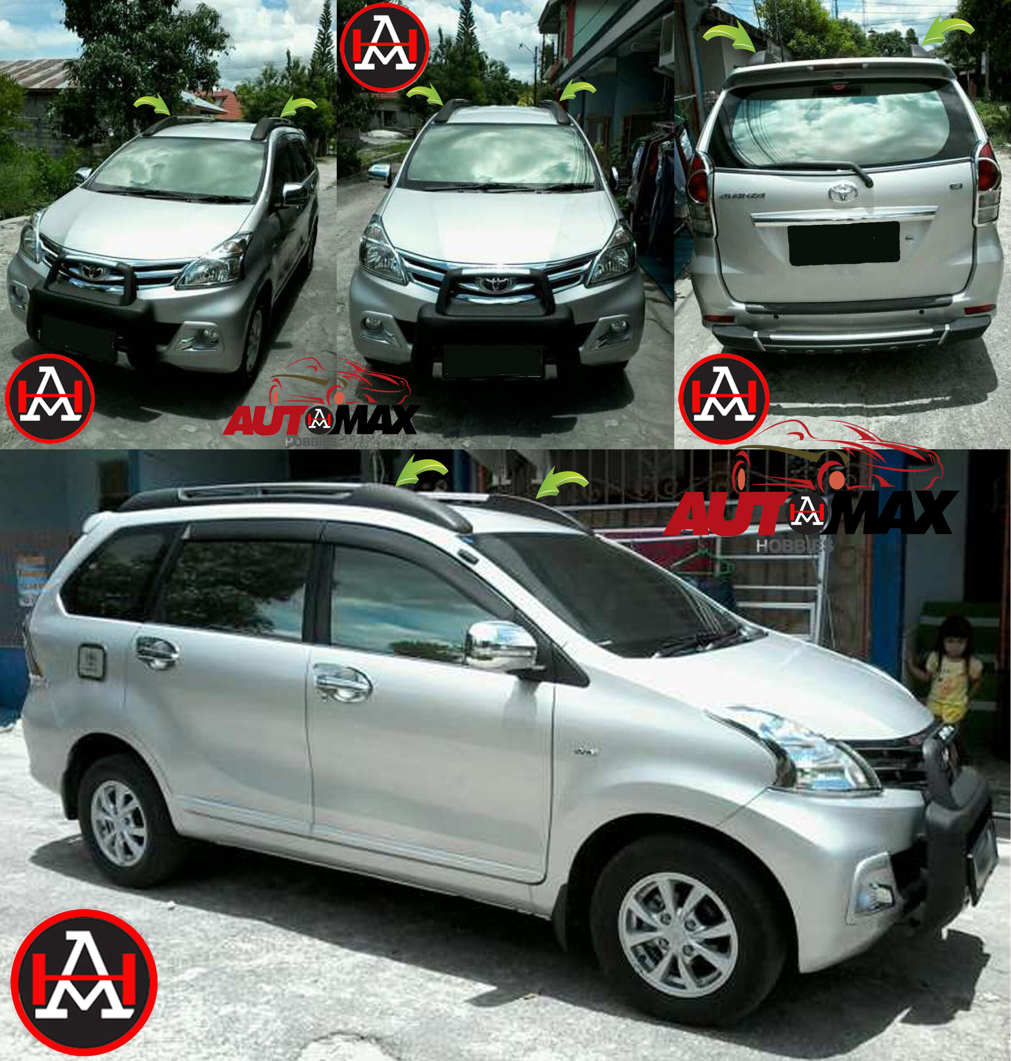 Roof Rack Avanza Xenia Cosmecol 1 Toyota Denver Repair