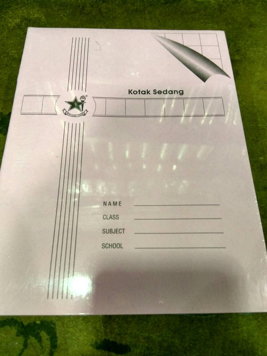Buku Tulis Kotak Sedang Bintang Obor 38 Lembar Atk