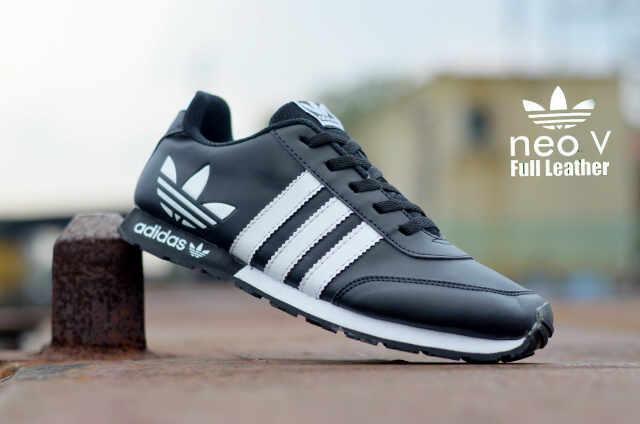 ... germany jual sepatu pria olahraga adidas neo v leather fitness kualitas  terbaik 2 shopping sepatu bandung dd7f0c7ad7