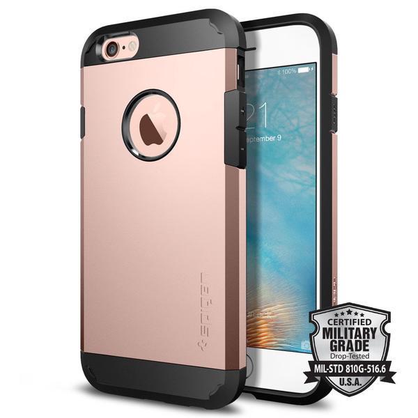 Spigen Tough Armor Case Iphone 6 - 6s - Rose Gold