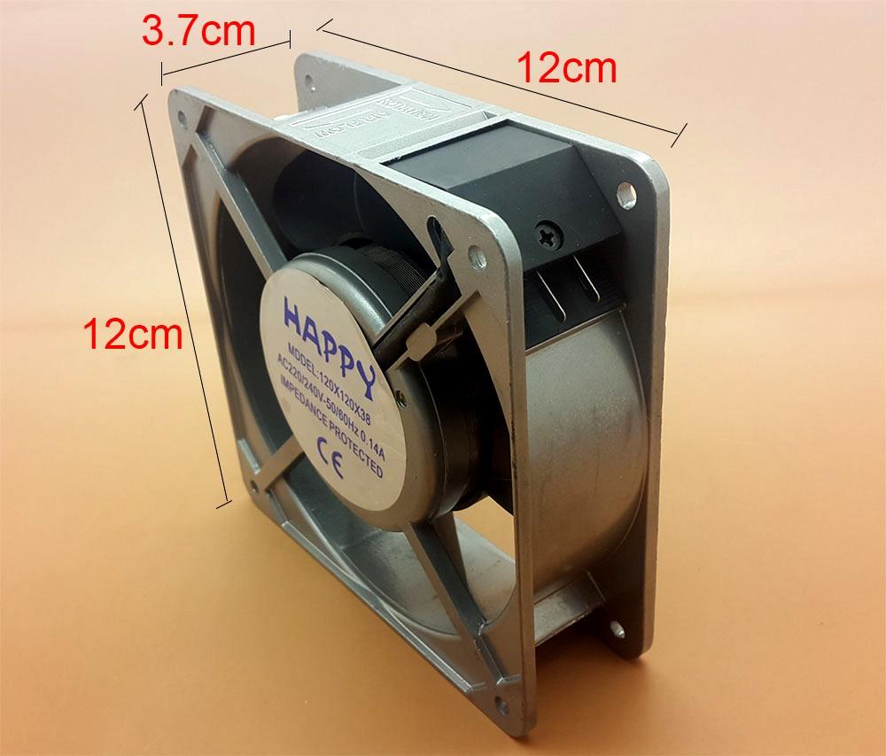 Jual Kipas Angin Pendingin Kecil AC Kotak Persegi 12x12 cm