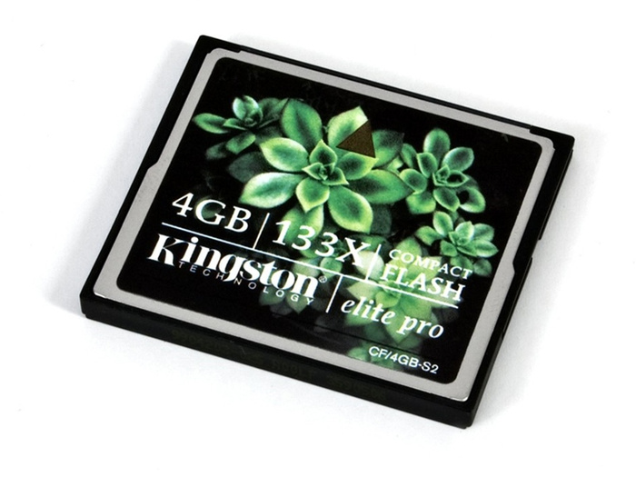 Kingston CF Memory Card Elite Pro 133X 4GB