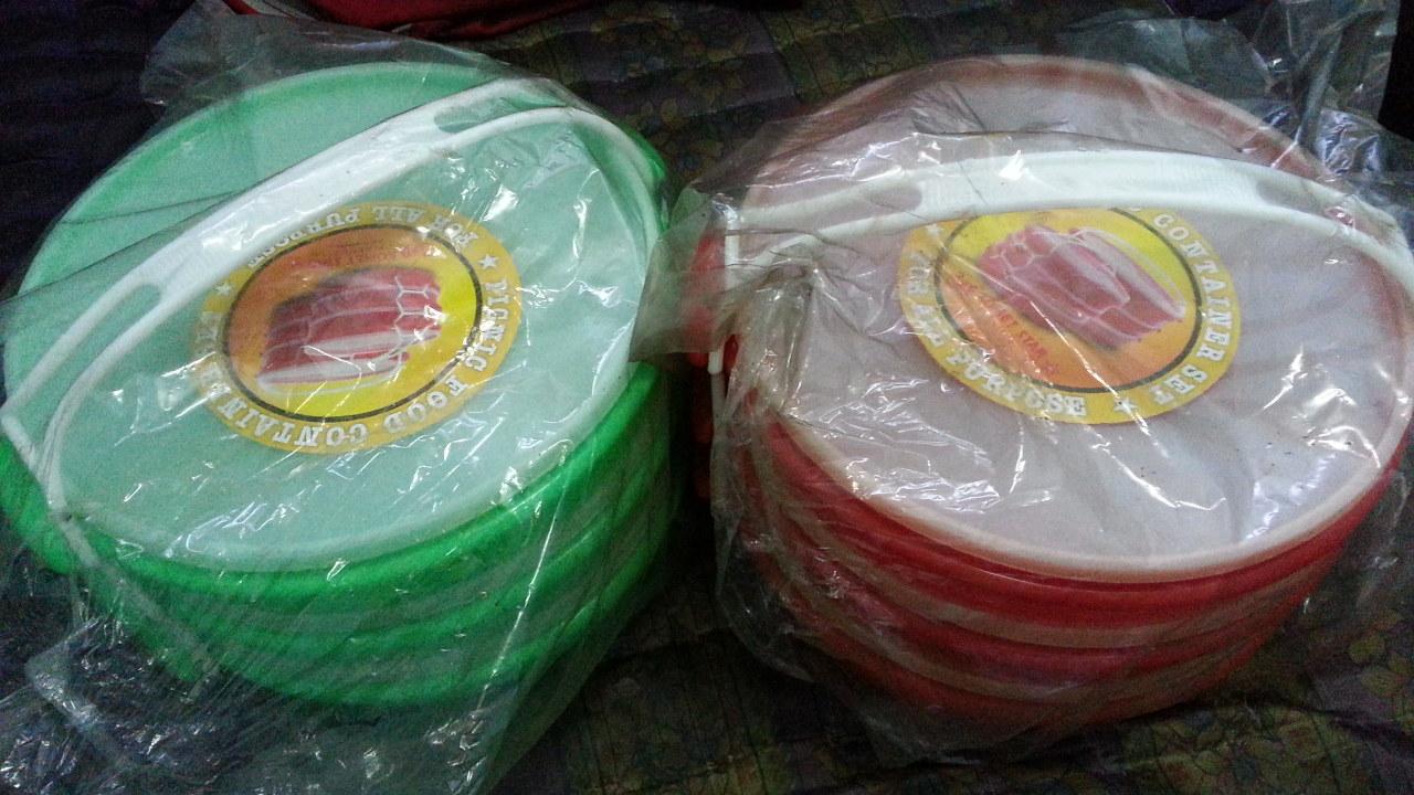 Jual Rantang Plastik Lunchbox Catering 3 Susun Bulat Besar Dodawa Lunch Box Murah Baru Warnas Faedah Tokopedia