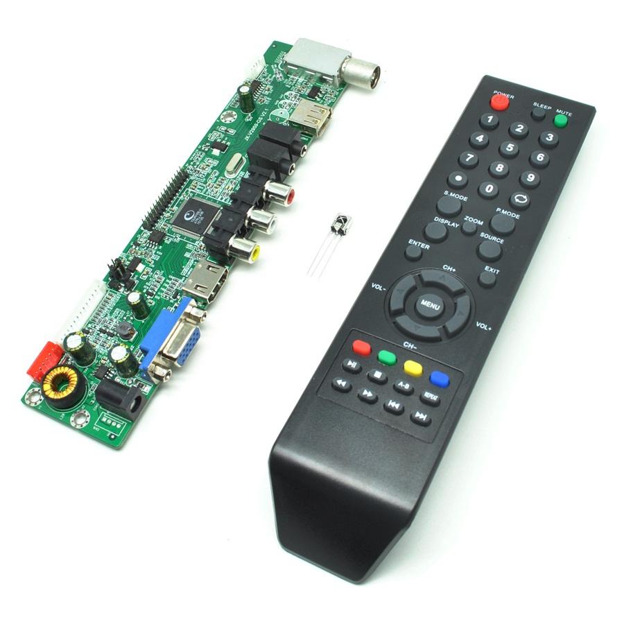 Universal LCD Controller Board TV Motherboard VGA / HDMI / AV / TV /