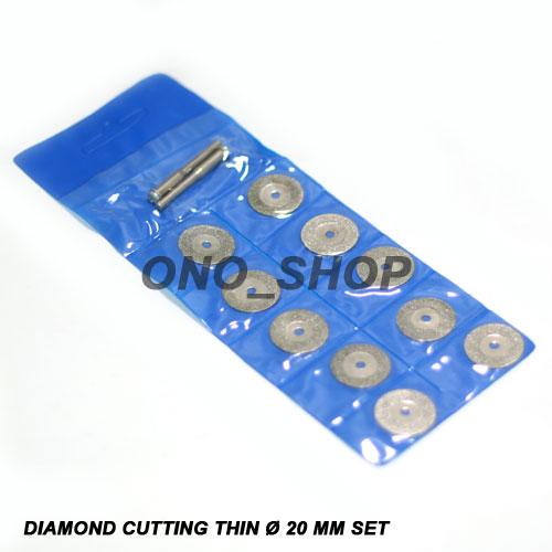 Mata Tuner Diamond Cutting Thin 20mm Set