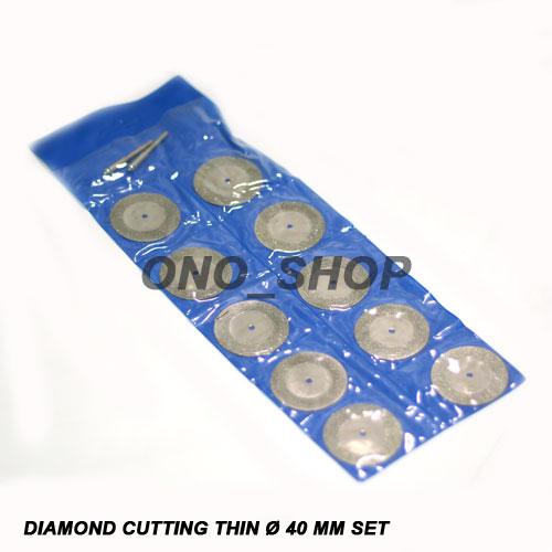 Mata Tuner Diamond Cutting Thin 40mm Set