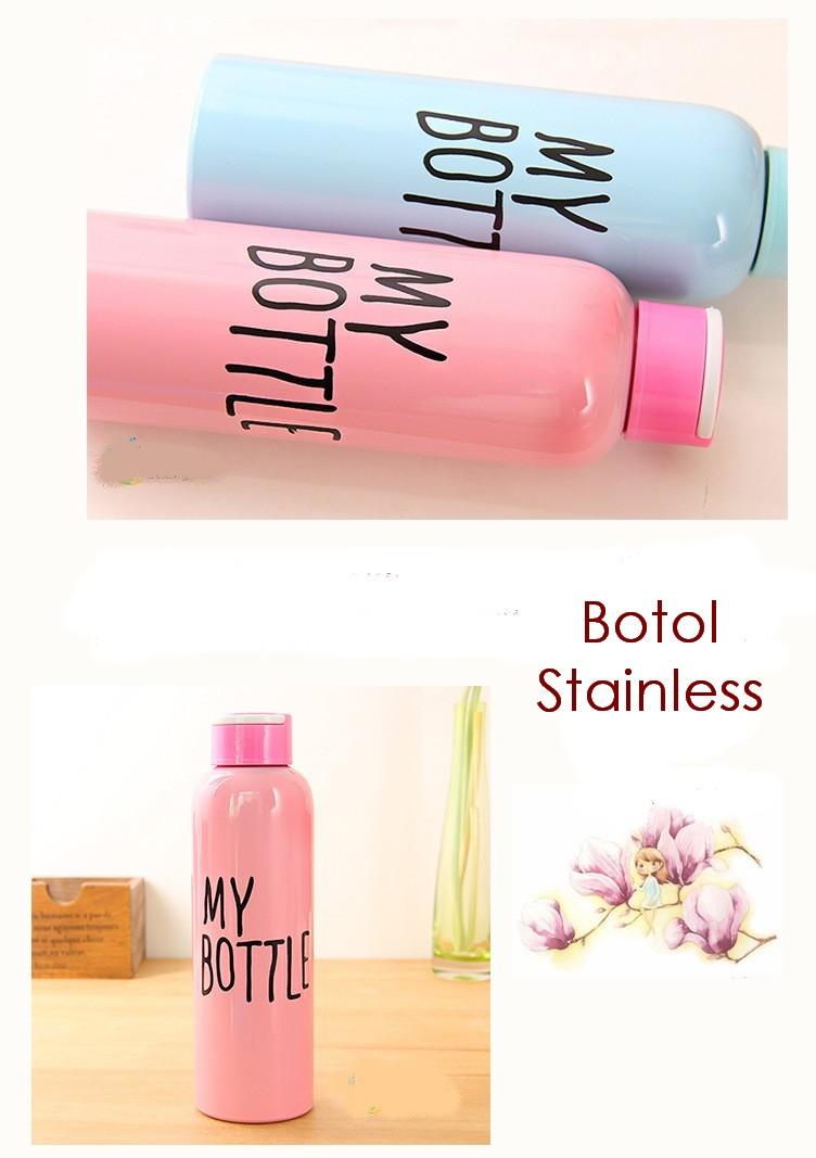 Jual My Bottle Stainless 650 Ml Maxx Olshop Tokopedia Termos Botol