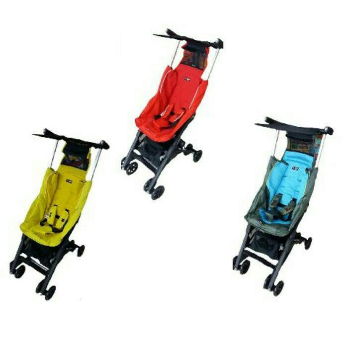 Stroller Cocolatte Pockit 789Tote Bag Red,blue,yellow Murah