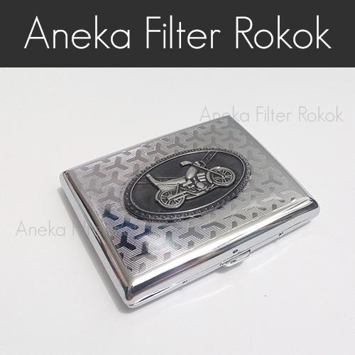Kotak Rokok Aluminium Emblem