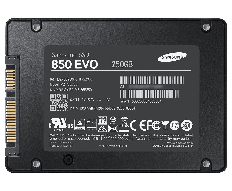 "Harddisk SSD Samsung 850 EVO 250GB 2.5"" Internal SATA Diskon"
