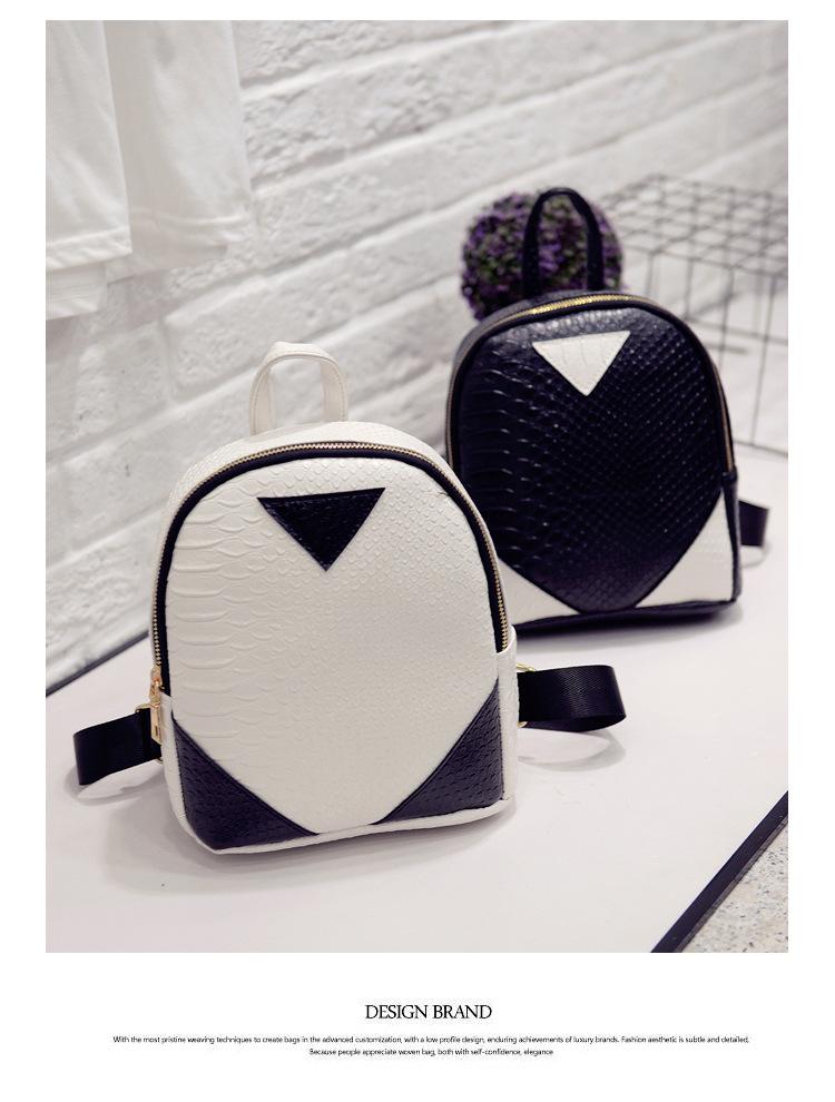 harga Tas Ransel Kecil Buaya Korean Fashion Crocodile Simple Backpack Bta103 - Hitam Blanja.com