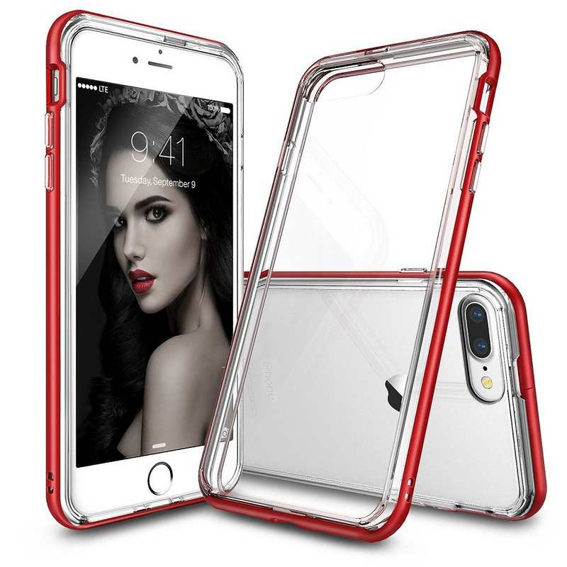 Ringke Frame Bumper Case for iPhone 7 Plus - Red