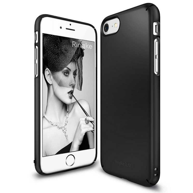 Ringke Slim Hard Case for iPhone 7 - SF Black