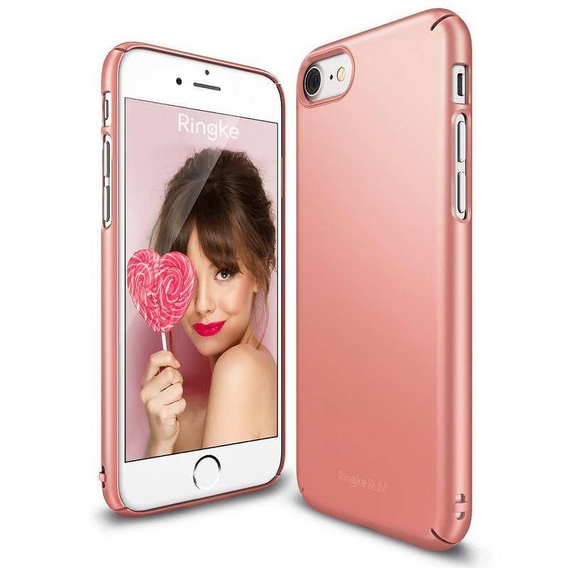 Ringke Slim Hard Case for iPhone 7 - Rose Gold