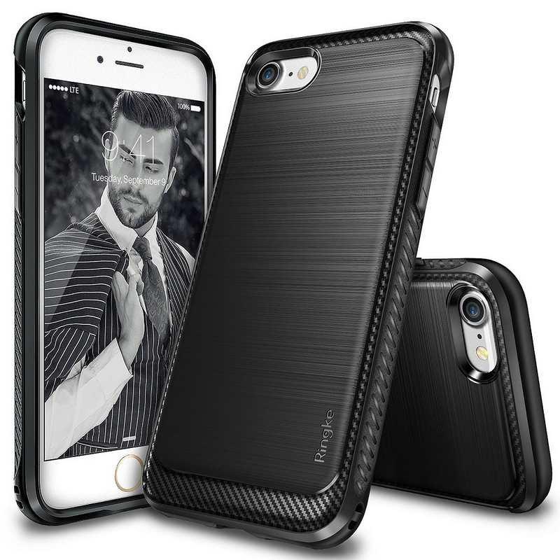 Ringke Onyx Soft Case for iPhone 7 - Black