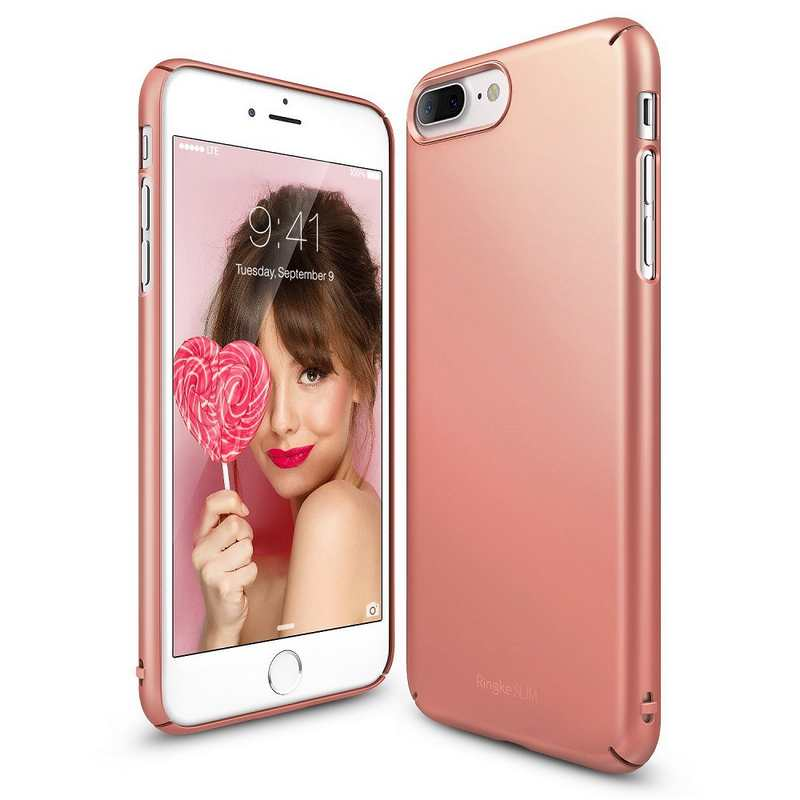 Ringke Slim Hard Case for iPhone 7 Plus - Rose Gold