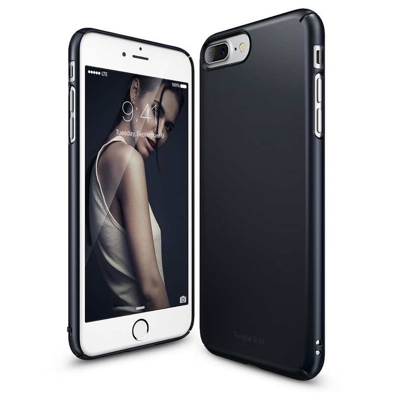 Ringke Slim Hard Case for iPhone 7 Plus - Slate Metal