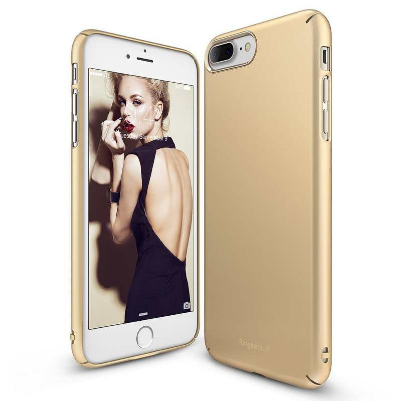 Ringke Slim Hard Case for iPhone 7 Plus - Royal Gold
