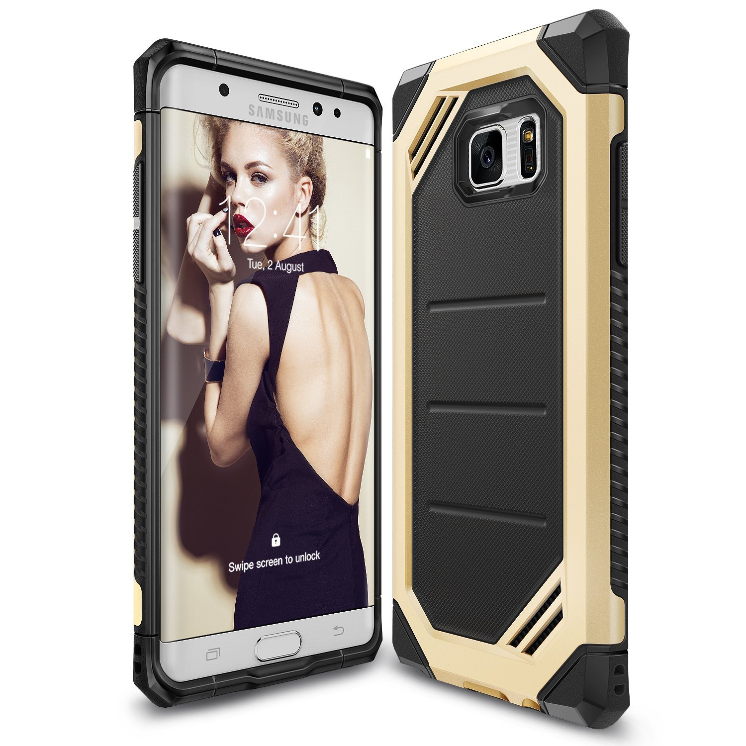 Ringke Max Case for Samsung Galaxy Note 7 - Royal Gold