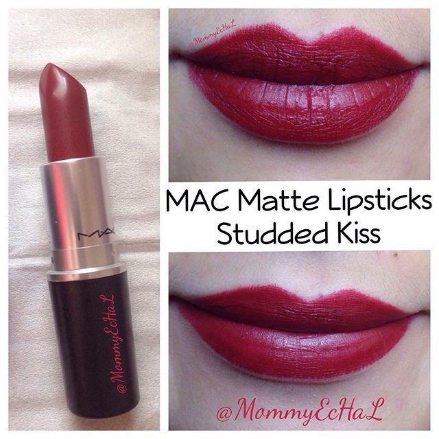 Extrêmement Jual Mac Matte Lipstick - Studded Kiss - mybeautycornershop  MD82