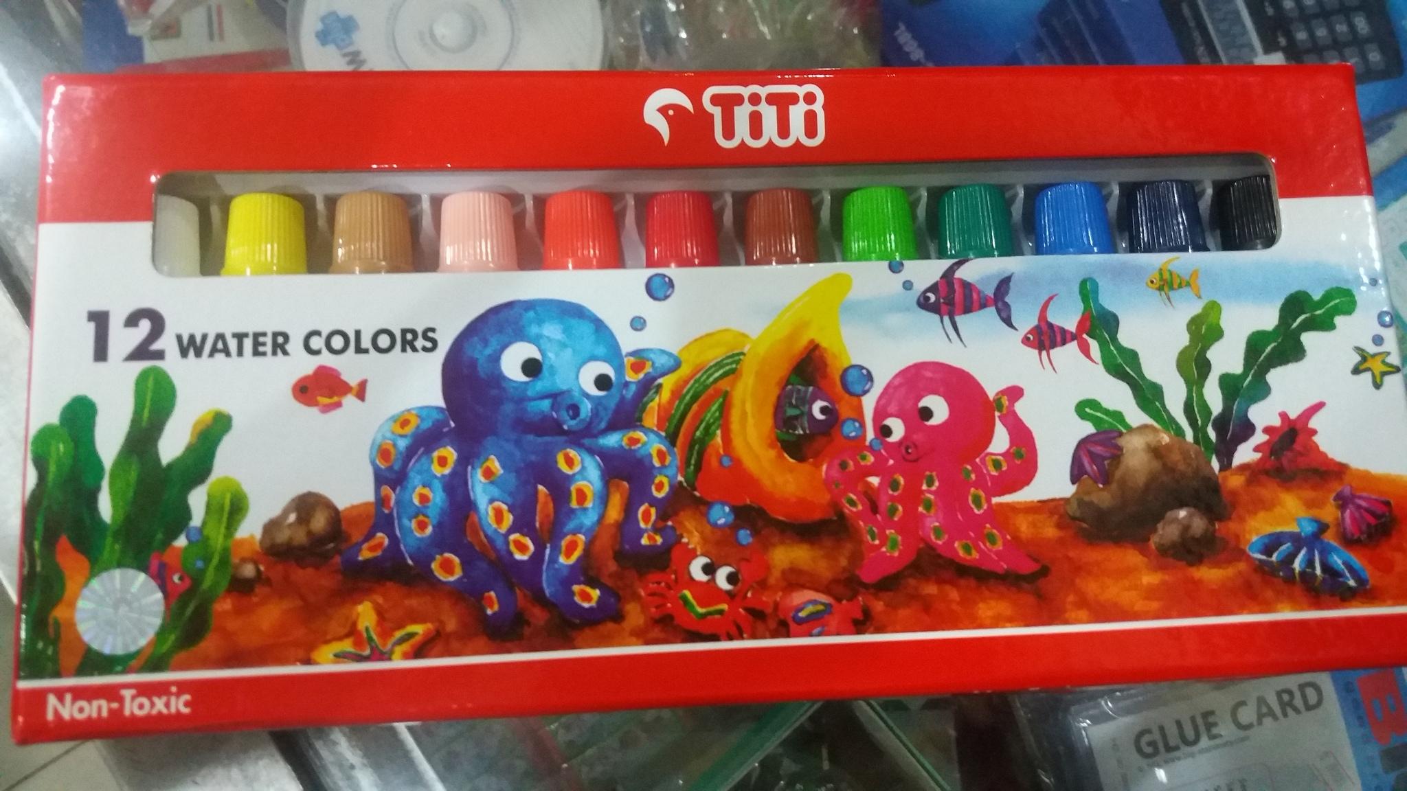 Cat Air / Water Colors TITI 12