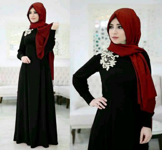 Maxi elegant black