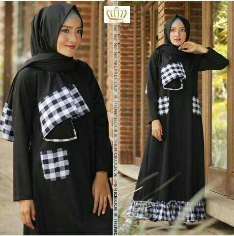 maxi hijab aurel black