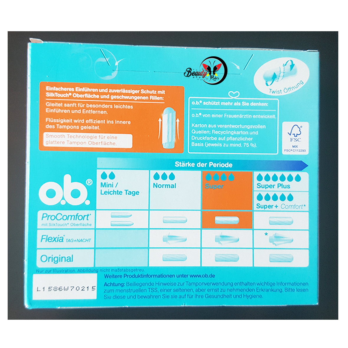 how to use ob pro comfort tampons
