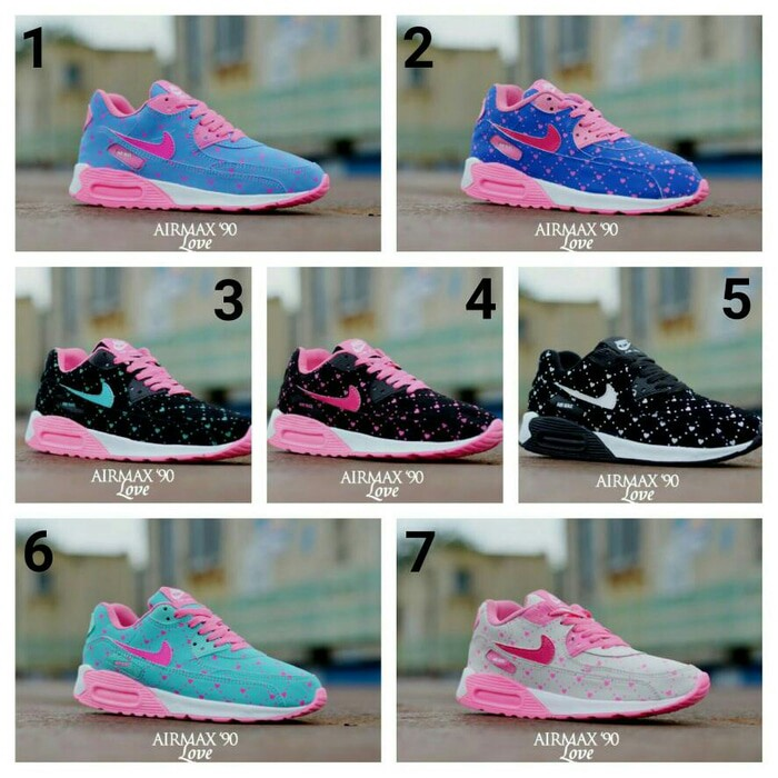 Jual Sepatu Nike Airmax T90 Love Women Wanita Cewe Grade Ori Murah Grosir -  Pasar Grosir Sepatu  338d73332d