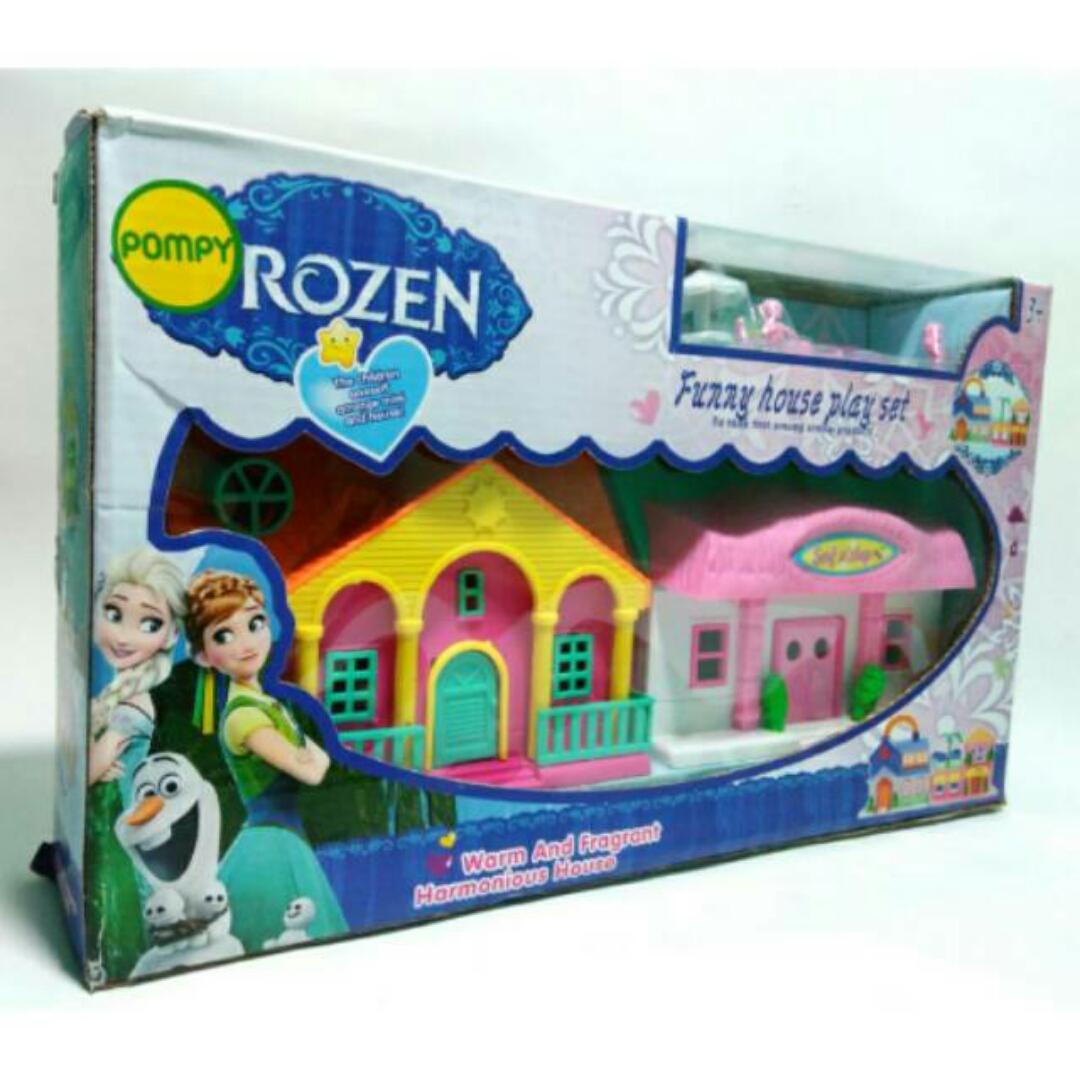 jual rumah frozen mainan anak