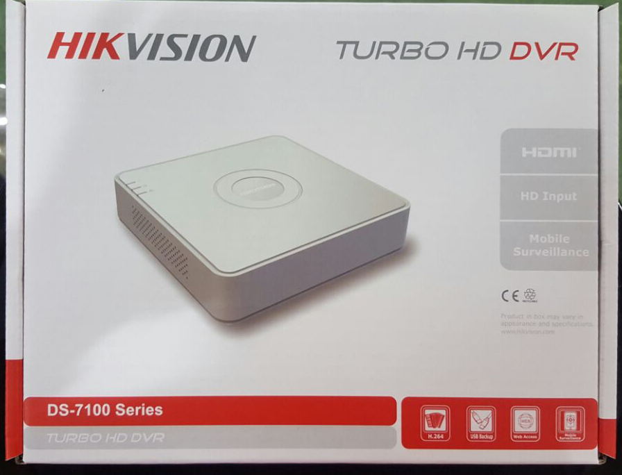dvr turbohd hikvision 08 ch 1mp support kamera ahd ds 7108hghi f1
