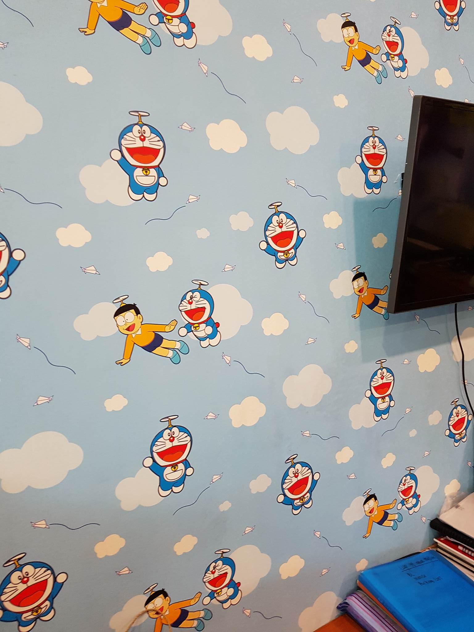 109 Wallpaper Dinding Kamar Doraemon | Wallpaper Dinding