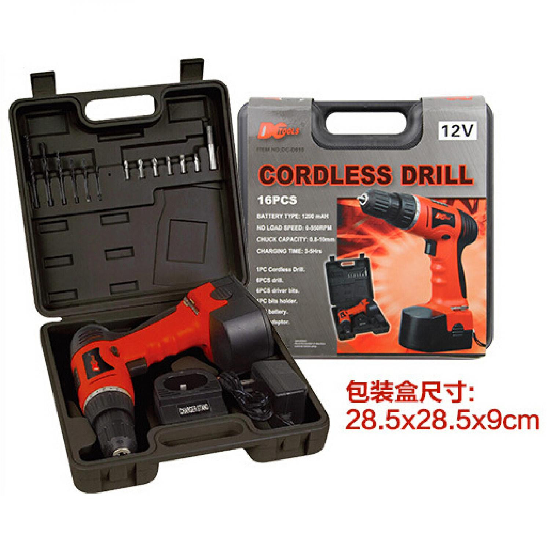Cordless Rechargeable Electric Drill - DC-D010 / Bor Listrik