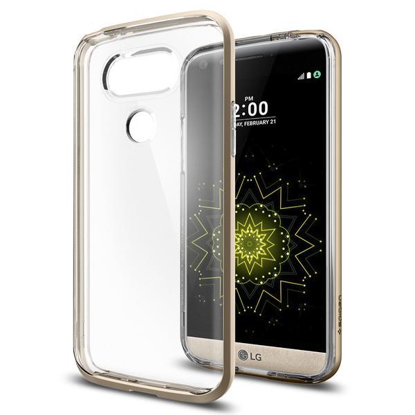 Spigen Neo Hybrid Crystal Case LG G5 - G5 SE - Champagne Gold