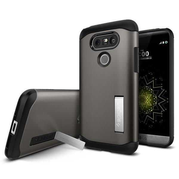 Spigen Slim Armor Case LG G5 - G5 SE - Gun Metal