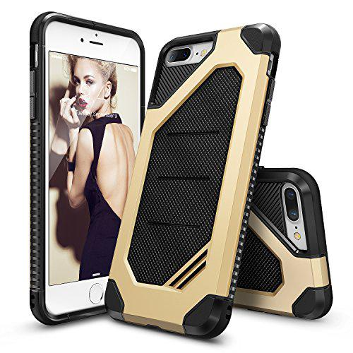 Ringke iPhone 7 Plus Max Soft Hard Case - Royal Gold
