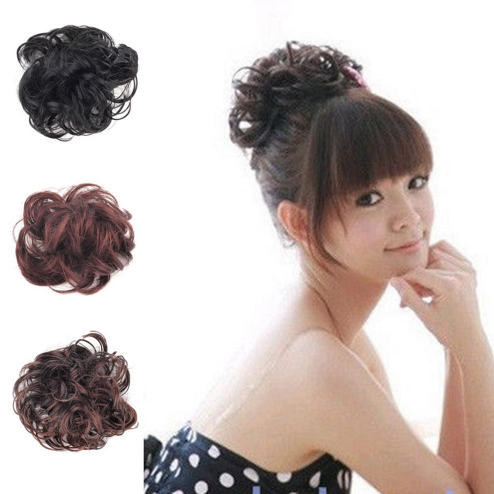 hairclip kuncir rambut palsu kunciran rambut murah thumbnail