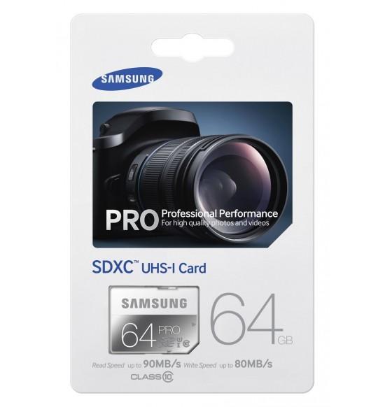 Samsung SDHC Pro 90Mb / S 64GB