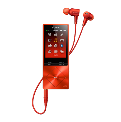 Sony High Resolution Audio Player Walkman NW-A26 - Cinnabar Red