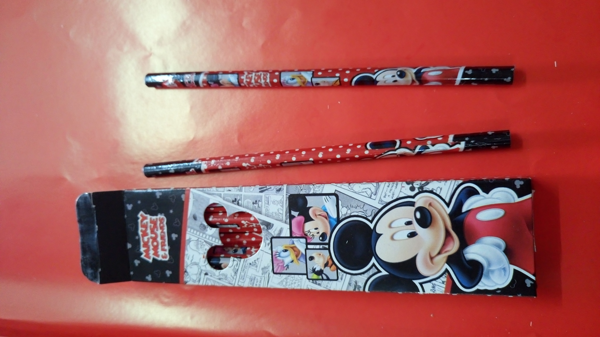 Pinsil 2b Fancy Mickey