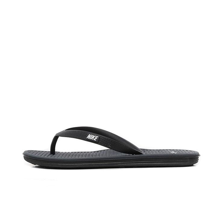 Jual Sandal Nike Solarsoft Thong 2 Black Original 488160-011 - Ncr ... ec73526f75
